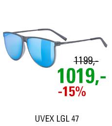 UVEX LGL 47, SMOKE MAT (5516) 2021