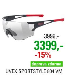 UVEX SPORTSTYLE 804 VM, BLACK MAT-RED (2301) 2021