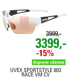 UVEX SPORTSTYLE 803 RACE VM CV, WHITE-BLACK MAT (8206) 2021