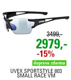 UVEX SPORTSTYLE 803 SMALL RACE VM, BLACK (2203) 2021