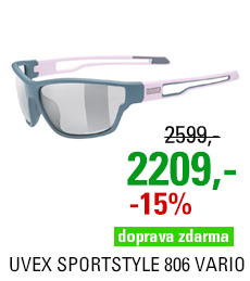 UVEX SPORTSTYLE 806 VARIO, GREY-ROSE MAT (5301) 2021