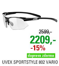 UVEX SPORTSTYLE 802 VARIO, BLACK (2201) 2021