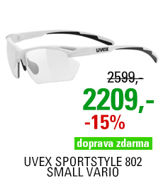 UVEX SPORTSTYLE 802 SMALL VARIO, WHITE (8801) 2021