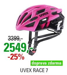UVEX RACE 7, RUBIN-BLACK 2021