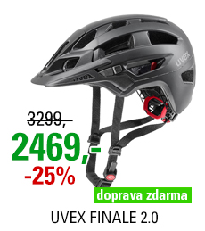 UVEX FINALE 2.0, BLACK MAT 2021