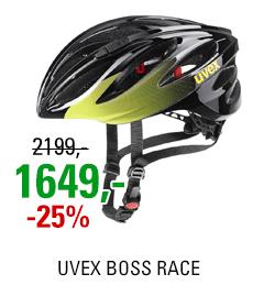 UVEX BOSS RACE, BLACK-LIME 2021
