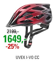 UVEX I-VO CC, RED BLACK MAT 2021