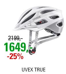 UVEX TRUE, WHITE-GREY 2021