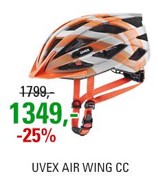 UVEX AIR WING CC, GREY-ORANGE MAT 2021