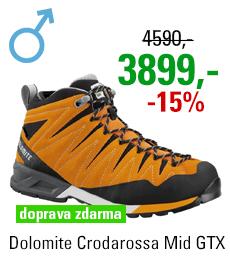 Dolomite Crodarossa Mid GTX Bright Orange/Black