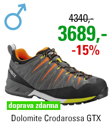Dolomite Crodarossa GTX Grey/Orange