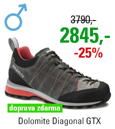 Dolomite Diagonal GTX Grey/Red