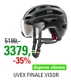 UVEX FINALE VISOR, BLACK MAT 2021