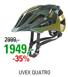 UVEX QUATRO, FOREST-MUSTARD 2021