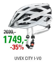 UVEX CITY I-VO, WHITE MAT 2021