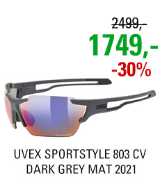 UVEX SPORTSTYLE 803 CV, DARK GREY MAT (5599) 2021