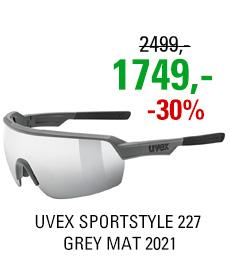UVEX SPORTSTYLE 227, GREY MAT (5516) 2021