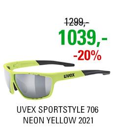 UVEX SPORTSTYLE 706, NEON YELLOW (6616) 2021