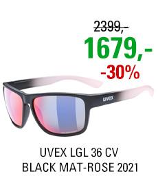 UVEX LGL 36 CV, BLACK MAT-ROSE (2398) 2021