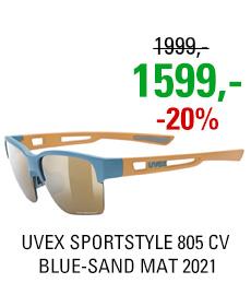 UVEX SPORTSTYLE 805 CV, BLUE-SAND MAT (4697) 2021