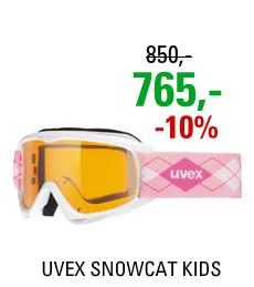 UVEX SNOWCAT white-pink/lasergold S5538151219