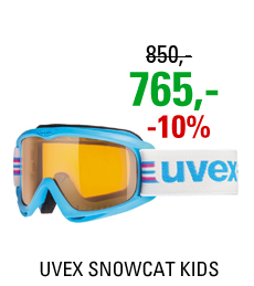 UVEX SNOWCAT cyan/lasergold lite S5538154119