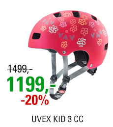 UVEX KID 3 CC, DARK RED 2021