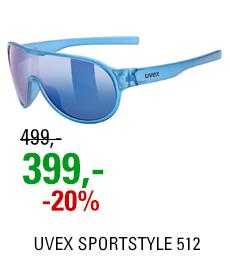 UVEX SPORTSTYLE 512, BLUE TRANSPARENT (4116) 2021