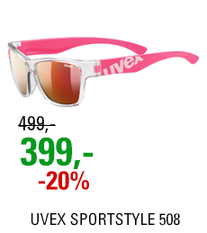 UVEX SPORTSTYLE 508, CLEAR PINK (9316) 2021