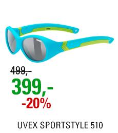 UVEX SPORTSTYLE 510, BLUE GREEN MAT (4716) 2021