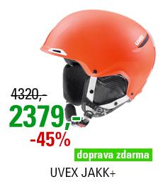 UVEX JAKK+ orange-white mat S566209800