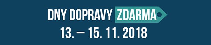 dolomitestore.cz - Dny dopravy zdarma